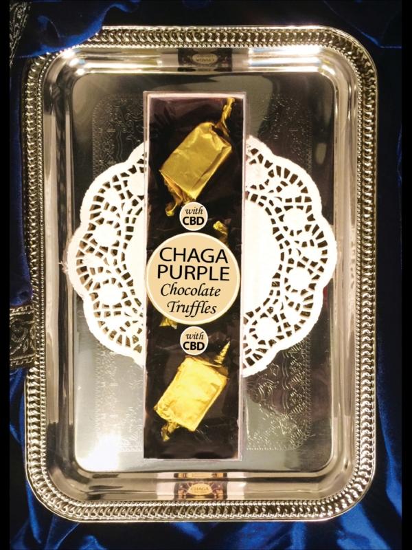 purple Chaga truffles